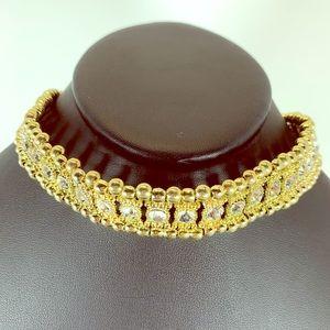 5/$25 Gold Choker Necklace Set